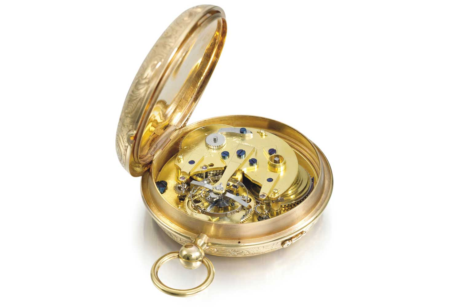 One of the first tourbillons by Abraham-Louis Breguet
