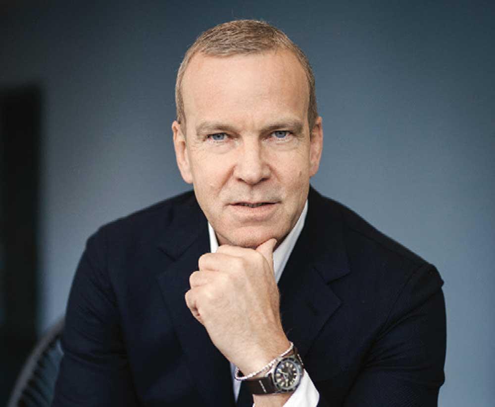 Matthias Breschan, CEO of Rado
