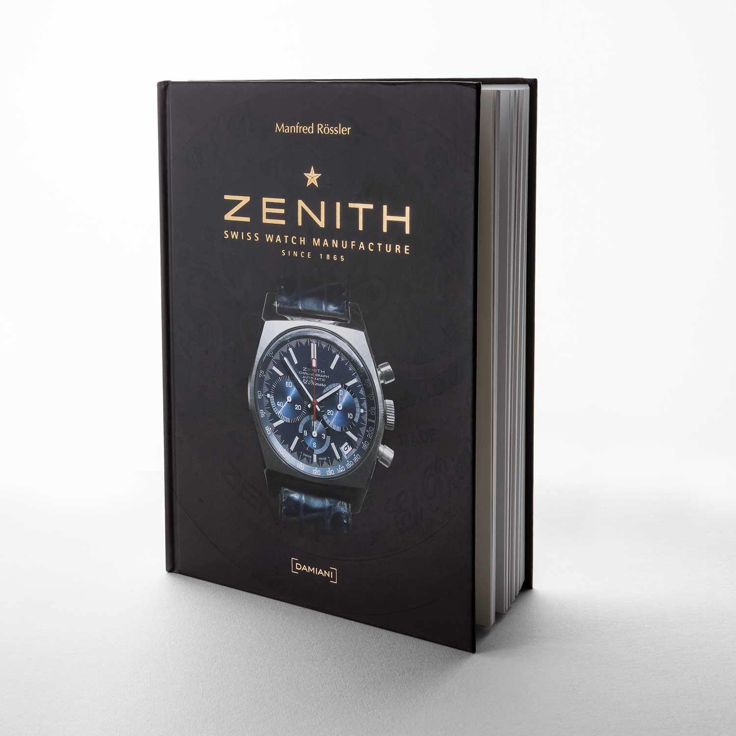 Manfred Rössler's book titled Zenith: Swiss Watch Manufacture Since 1865 (Image © Revolution)