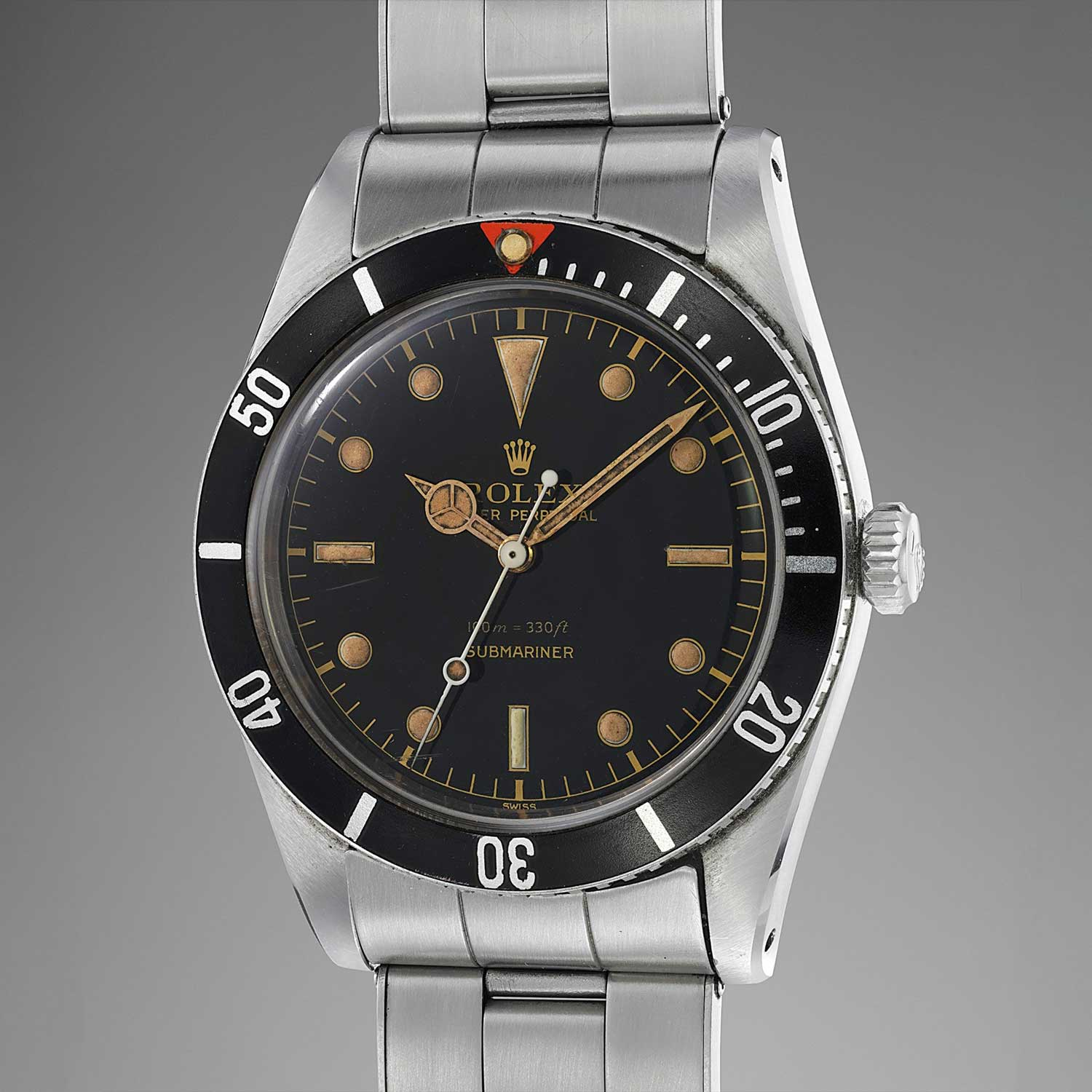 Rolex Submariner ref. 5508 that sold at the Geneva Watch Auction: Nine for CHF 500,000 (Image: phillipswatches.com)