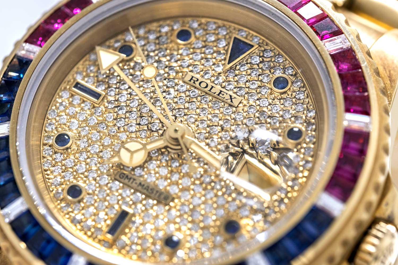 Rolex GMT-Master ref. 16758 SARU (Image © Revolution)