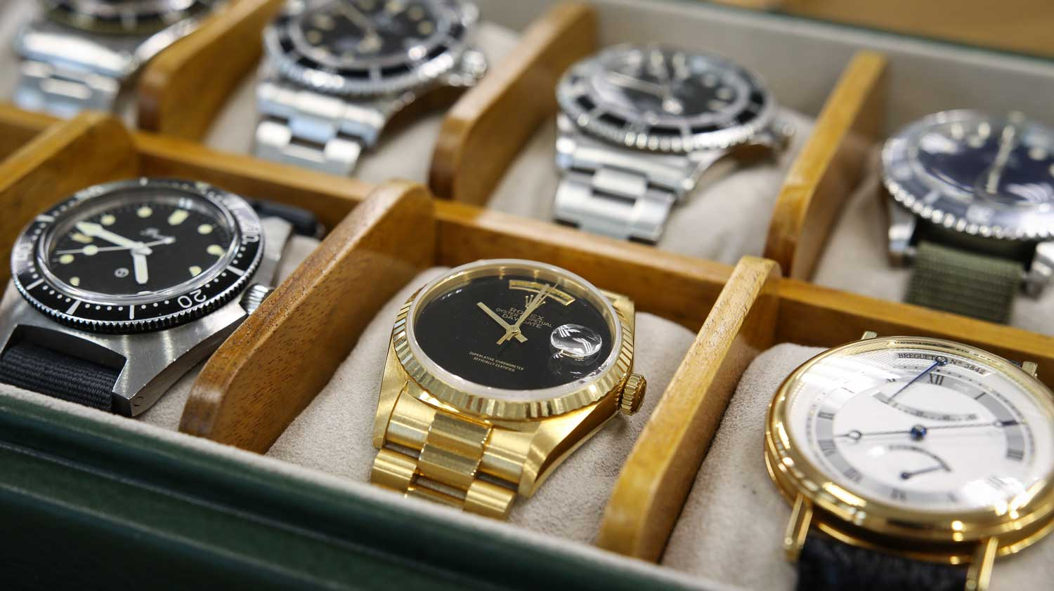 Watches from Lester Ng's collection (Image © Revolution)