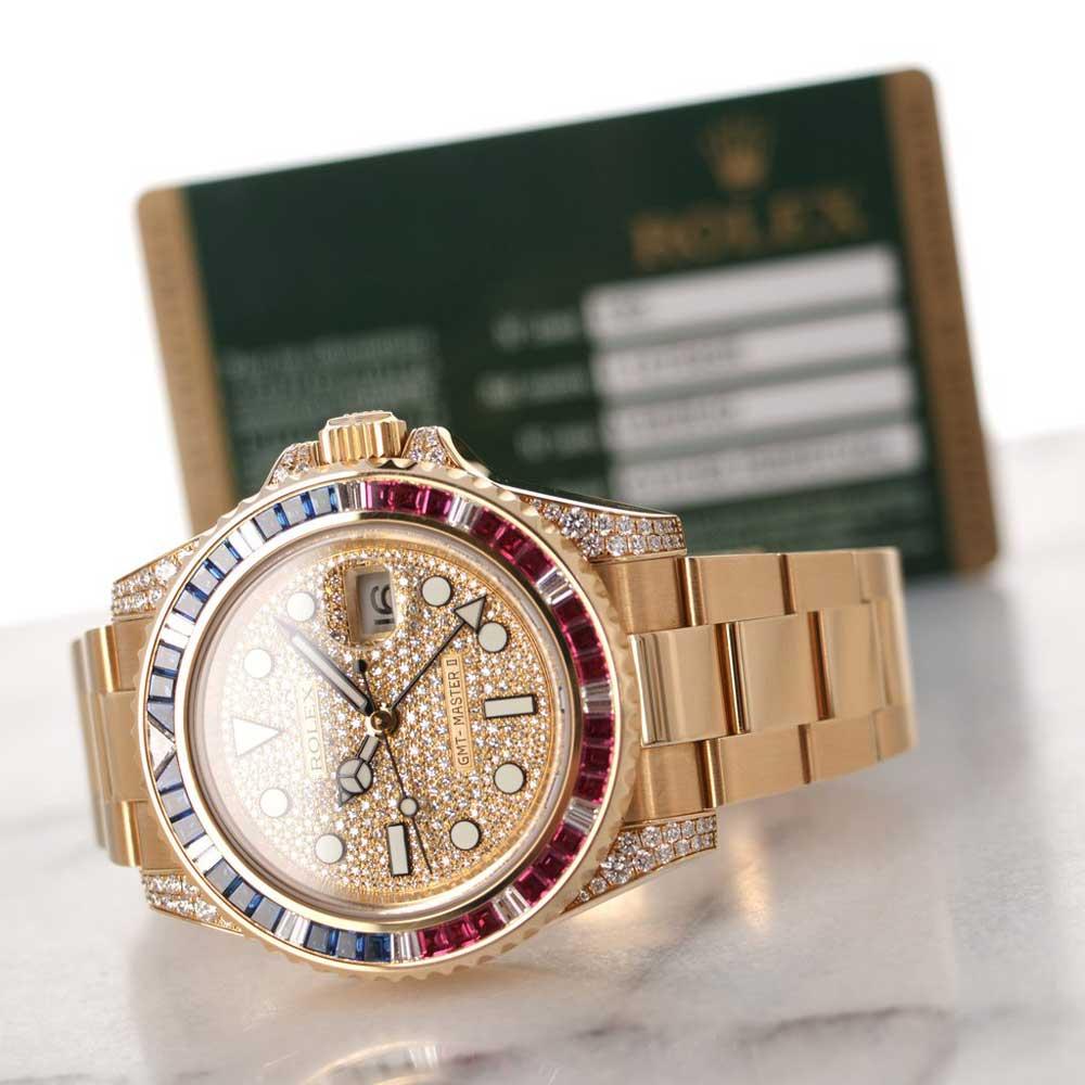 Rolex GMT-Master ref. 116758 SARU (Credit: The Keystone)