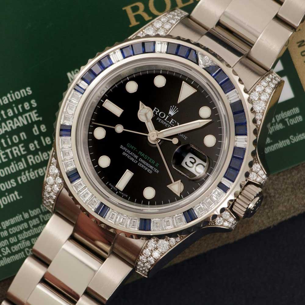 Rolex GMT-Master ref. 116759 SA (Credit: The Keystone)