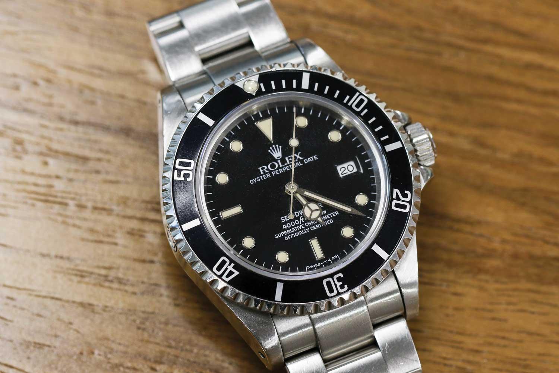 Rolex Sea-Dweller ref. 16600 (Image © Revolution)