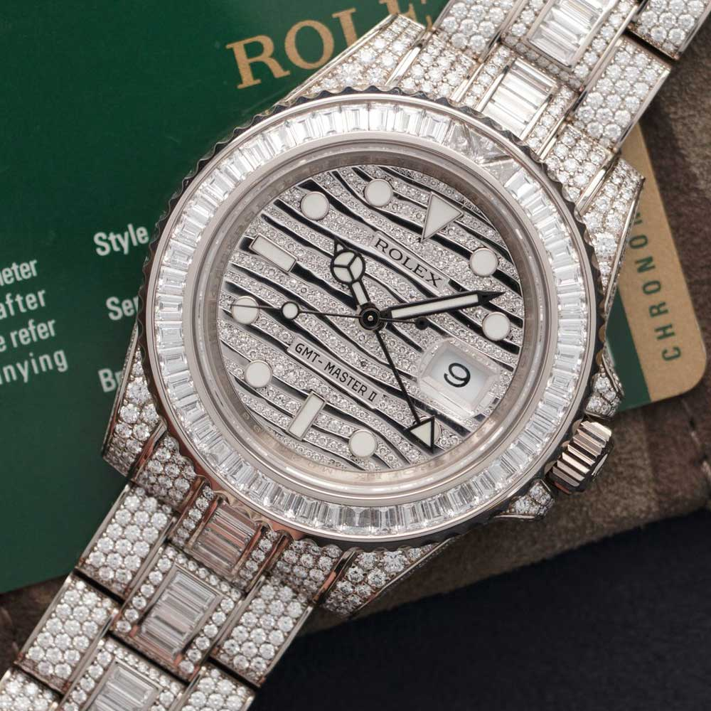Rolex GMT-Master ref. 116769 TBR (Credit: The Keyston)