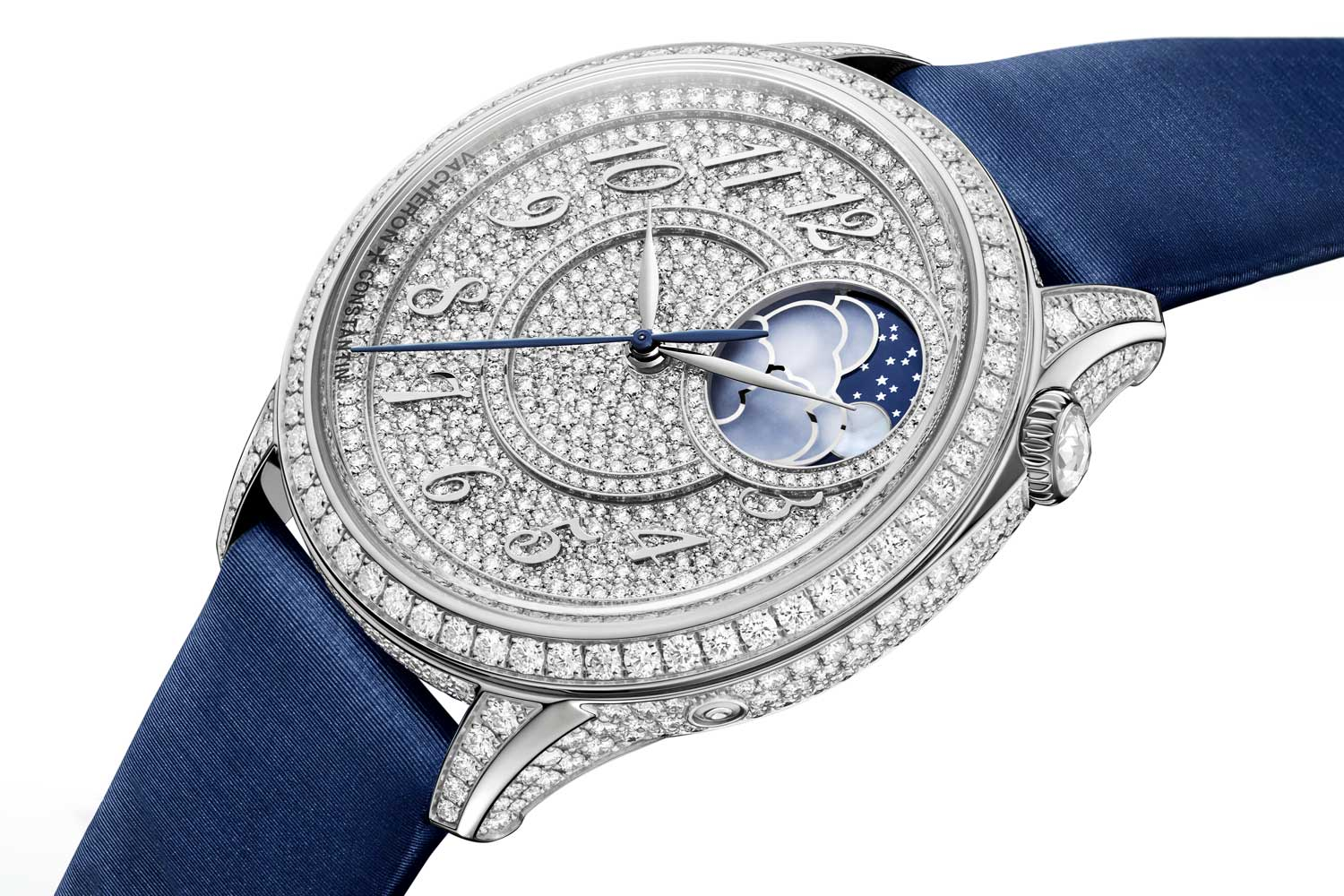 Vacheron Constantin Égérie Moon Phase Diamond-Paved