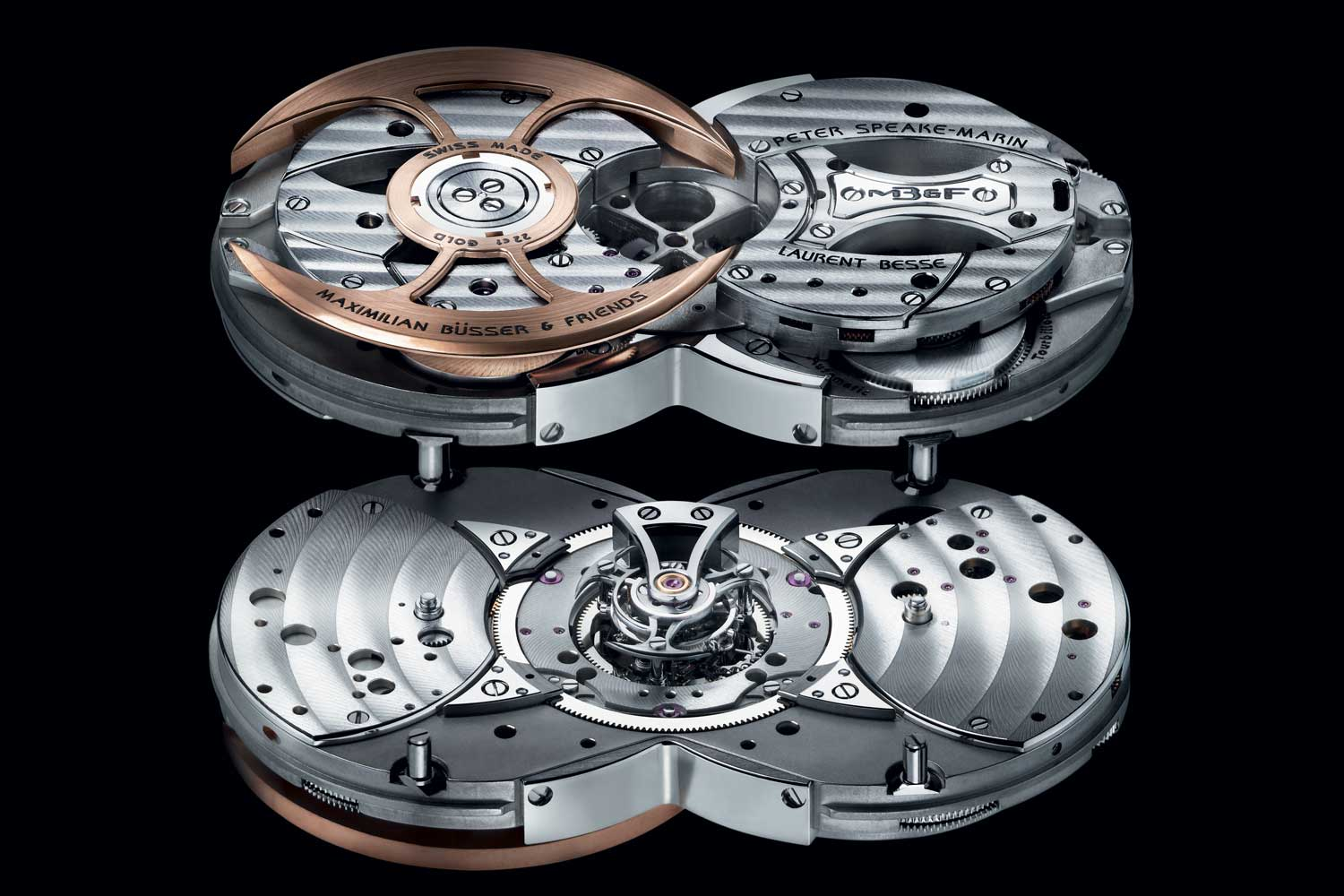 Movement of MB&F's Horological Machine No. 1