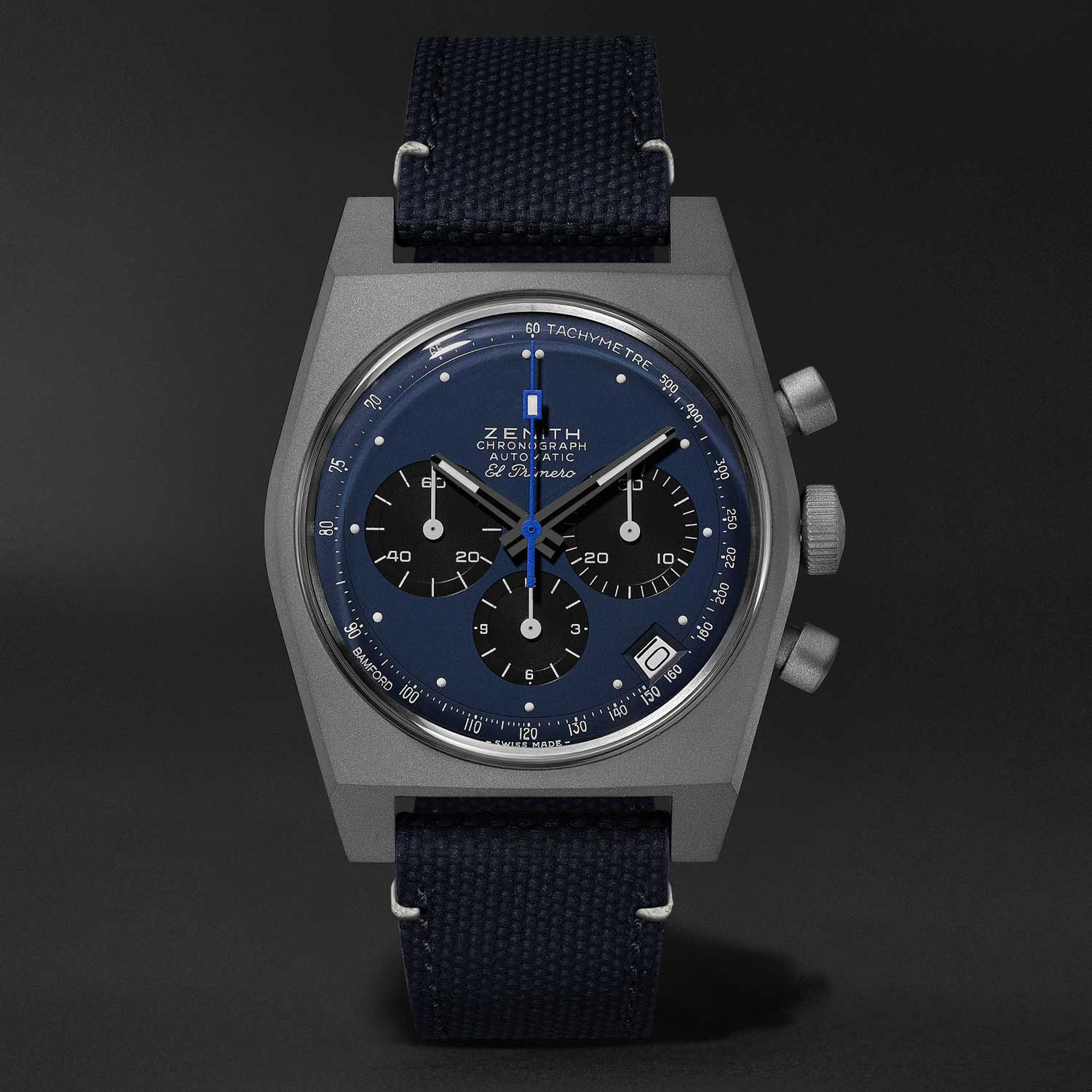 "Zenith x Bamford x MR PORTER El Primero Revival A384 ""Edge of Space"""