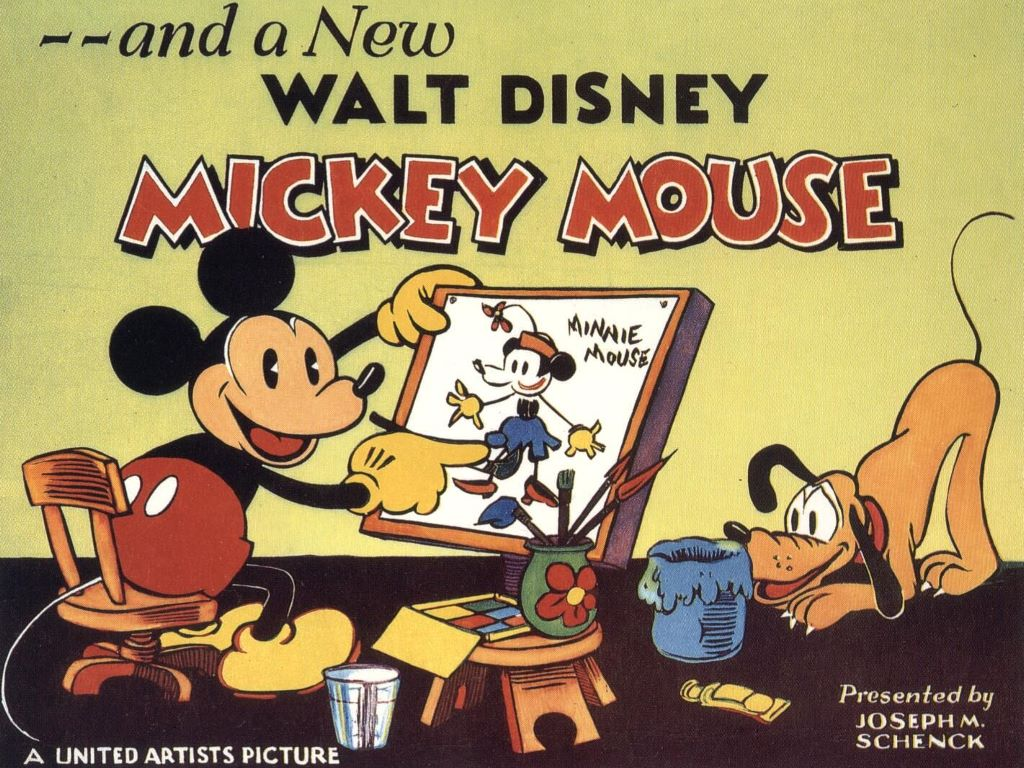 An old MIckey Mouse animation.