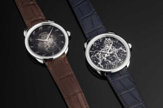 From left: Hermes Arceau Squelette and Arceau Cheval Fusion (Image © Revolution)
