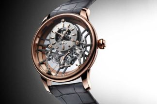 Grande Seconde Skelet-One (2020) in red gold