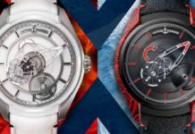 From left: Ulysse Nardin Freak X Ice; Ulysse Nardin Freak X Magma