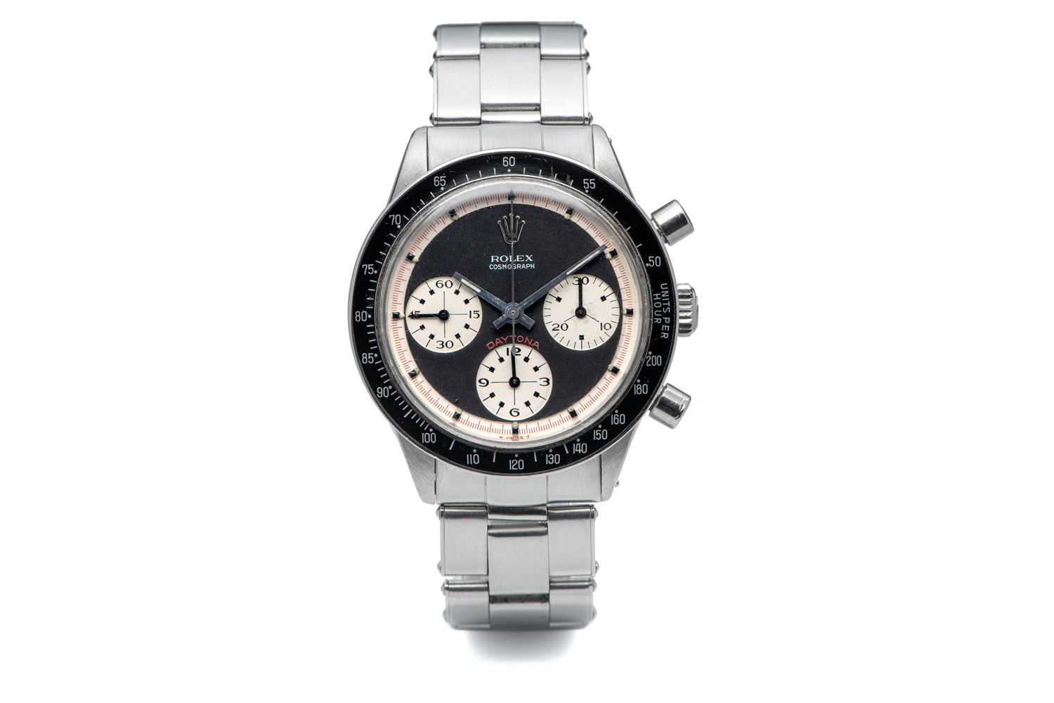 A reference 6241 Paul Newman Daytona that sold for $185k at Antiquorum's March 2020 Private Sale