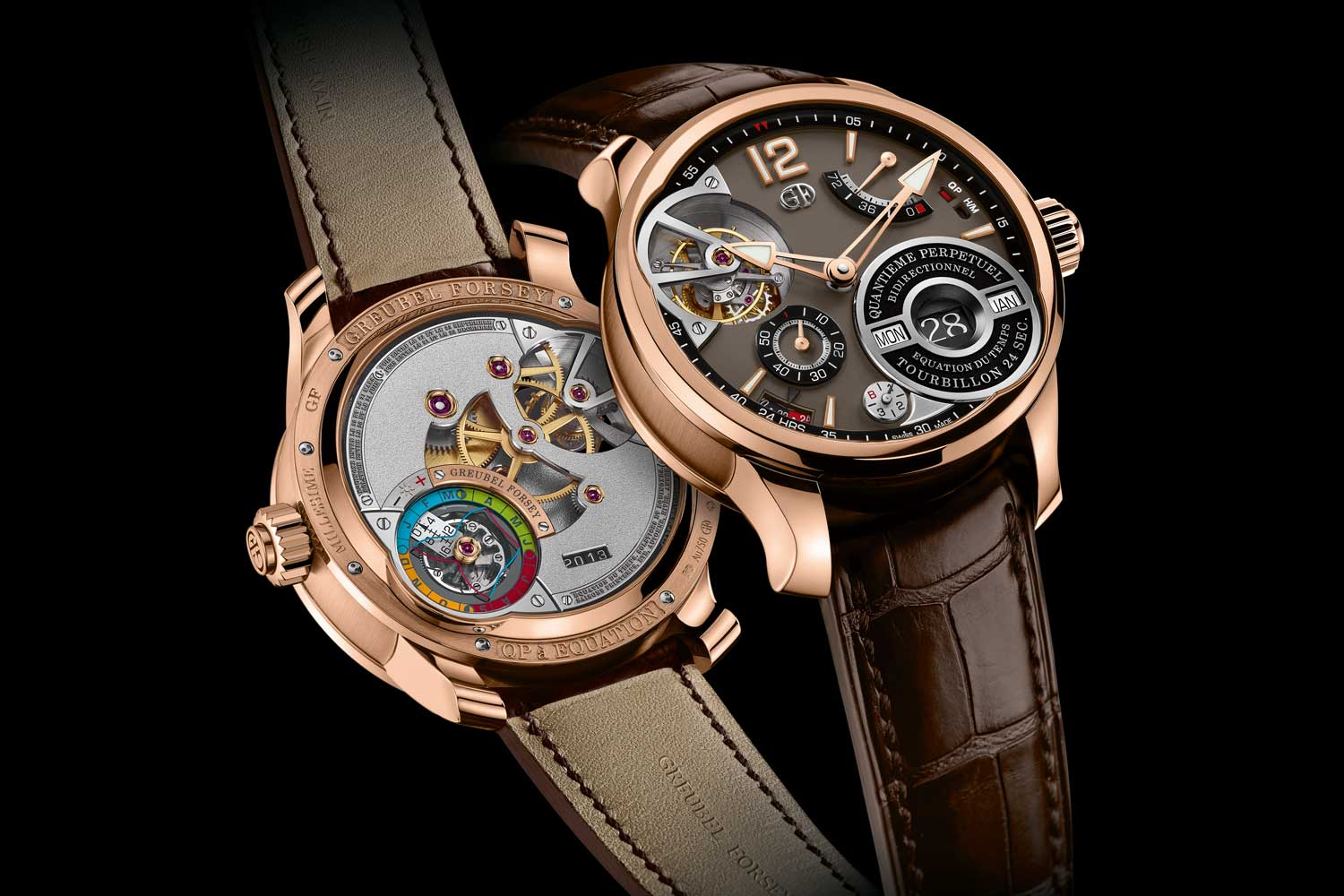 Greubel Forsey QP à Équation in Red Gold