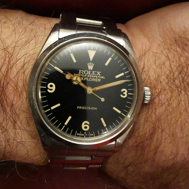Rolex Explorer Ref 5505 (Image: Ken Kessler)