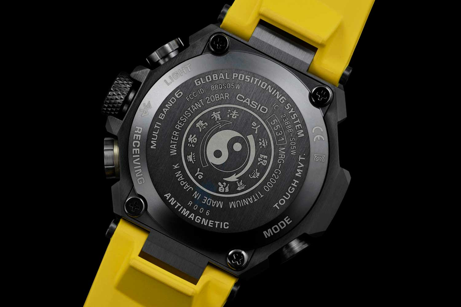 G-Shock MR-G × Bruce Lee