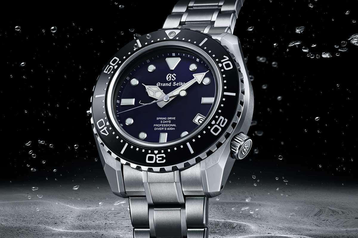 2020 60th Anniversary Limited Edition Professional Diver's 600M SLGA001 (Image: Grand Seiko)