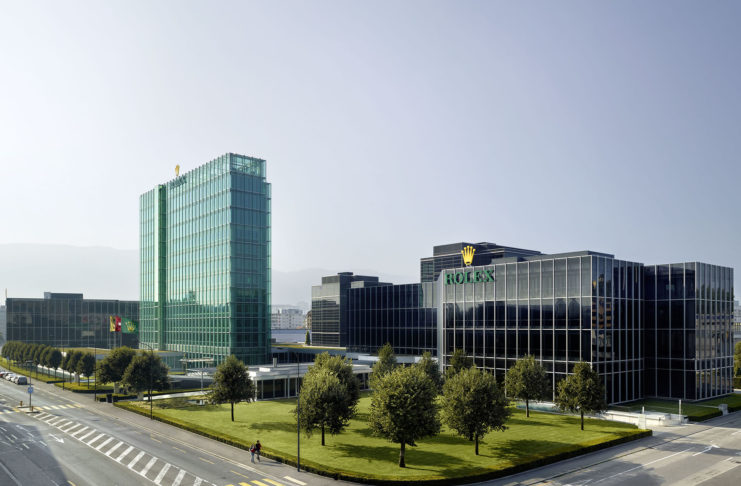 Rolex Acacias headquarters in Geneva. - www.revolution.watch