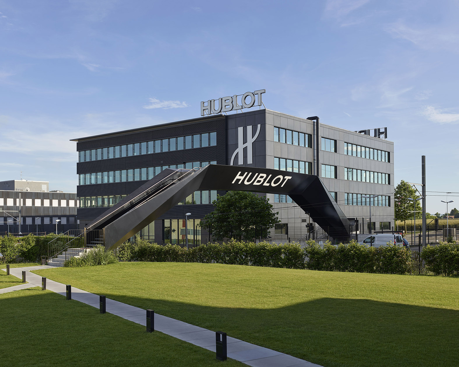 Hublot's Manufacture in Nyon. The brand just announced that it will be shutting down operations indefinitely until the coronavirus situation improves. - www.revolution.watch