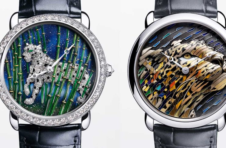 Cartier Métiers d'Art Watches for 2020