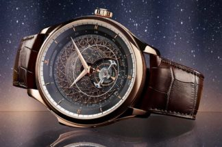 A clear frontal view of the new edition reveals how the Master Grande Tradition Grande Complication has changed this year