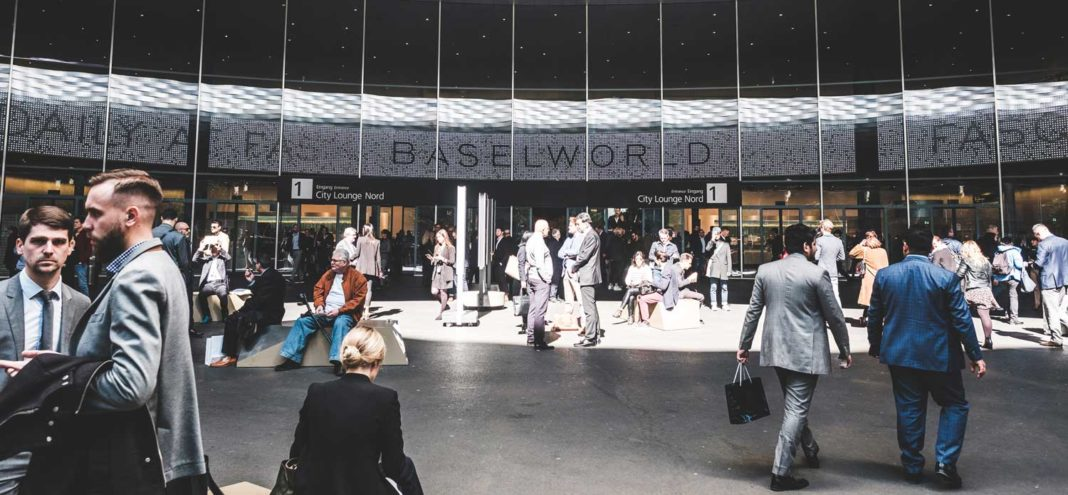 Entrance-way into the independent brands' hall at Baselworld 2019 (Image © Revolution)