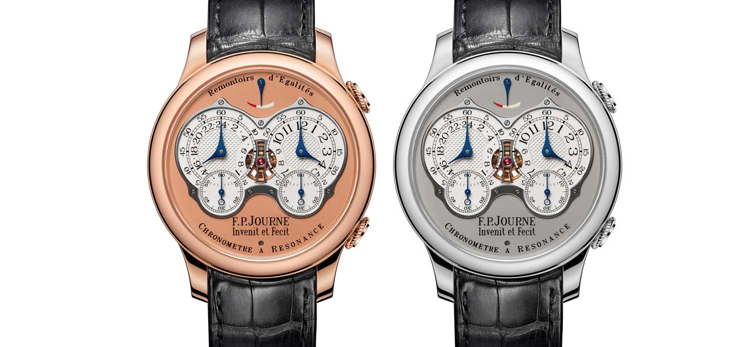F.P. Journe Reveals a Brand New Chronomètre À Résonance with Double Remontoir D'Egalite