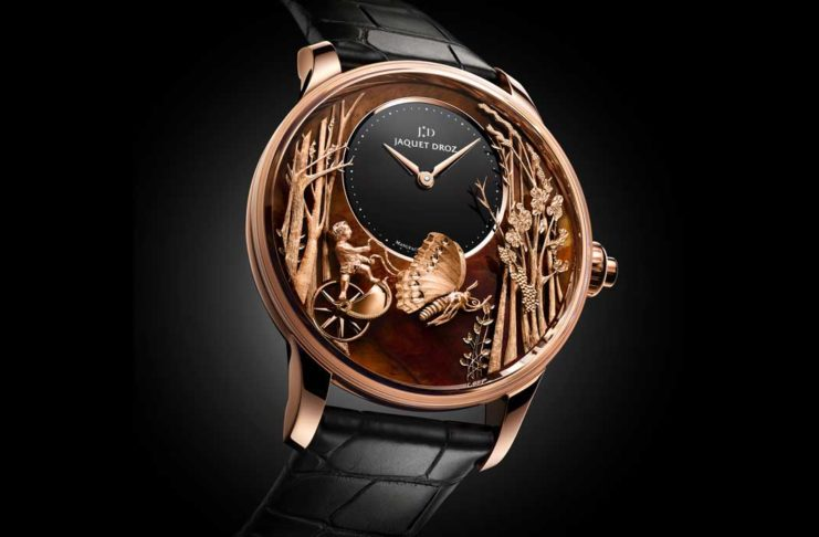 Jaquet Droz's Loving Butterfly