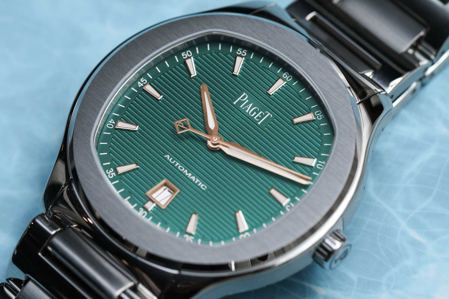 Piaget Polo S in Green (Image © Revolution)