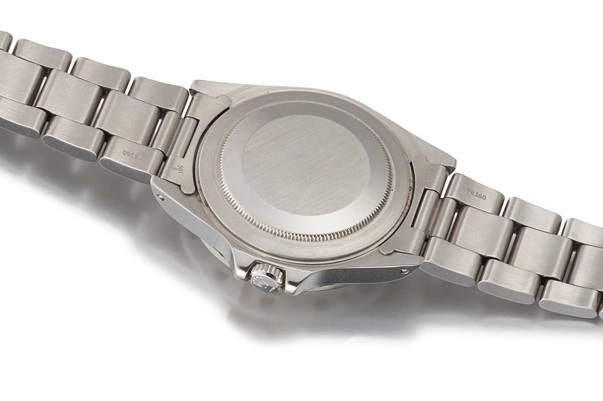 Rolex Explorer 2 reference 16550 - A stainless steel wristwatch with 24 hour indication and cream rail dial from 1987
