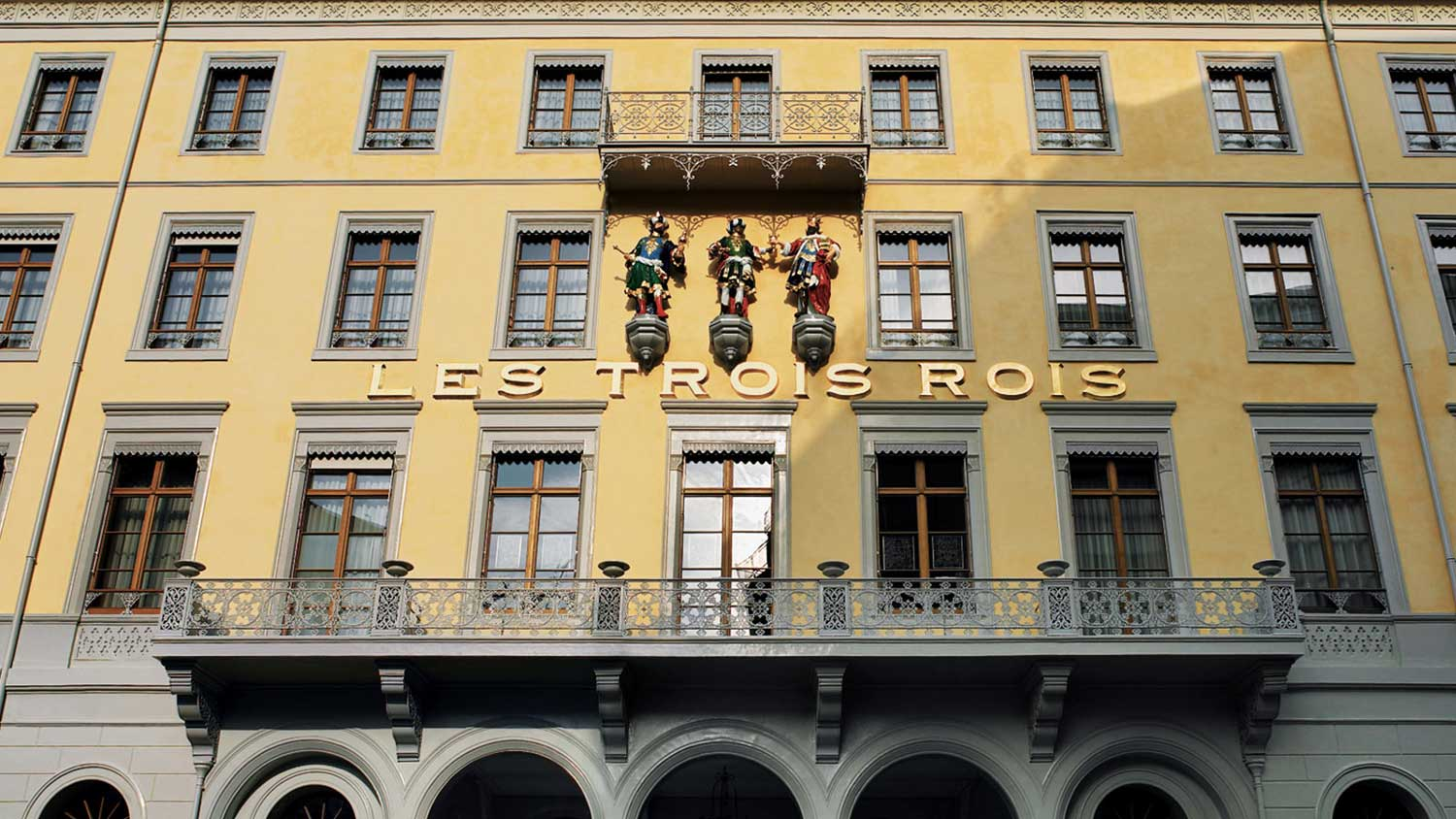 Grand Hotel Les Trois Rois, Basel's only 5-star hotel