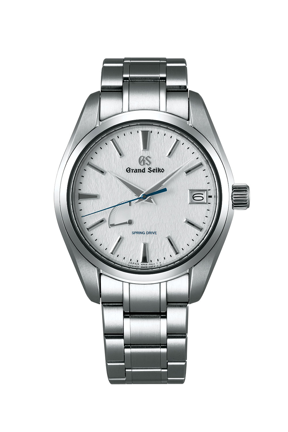 "The Grand Seiko Spring Drive SBGA211 in high impact titanium with the desirable ""snowflake"" dial."