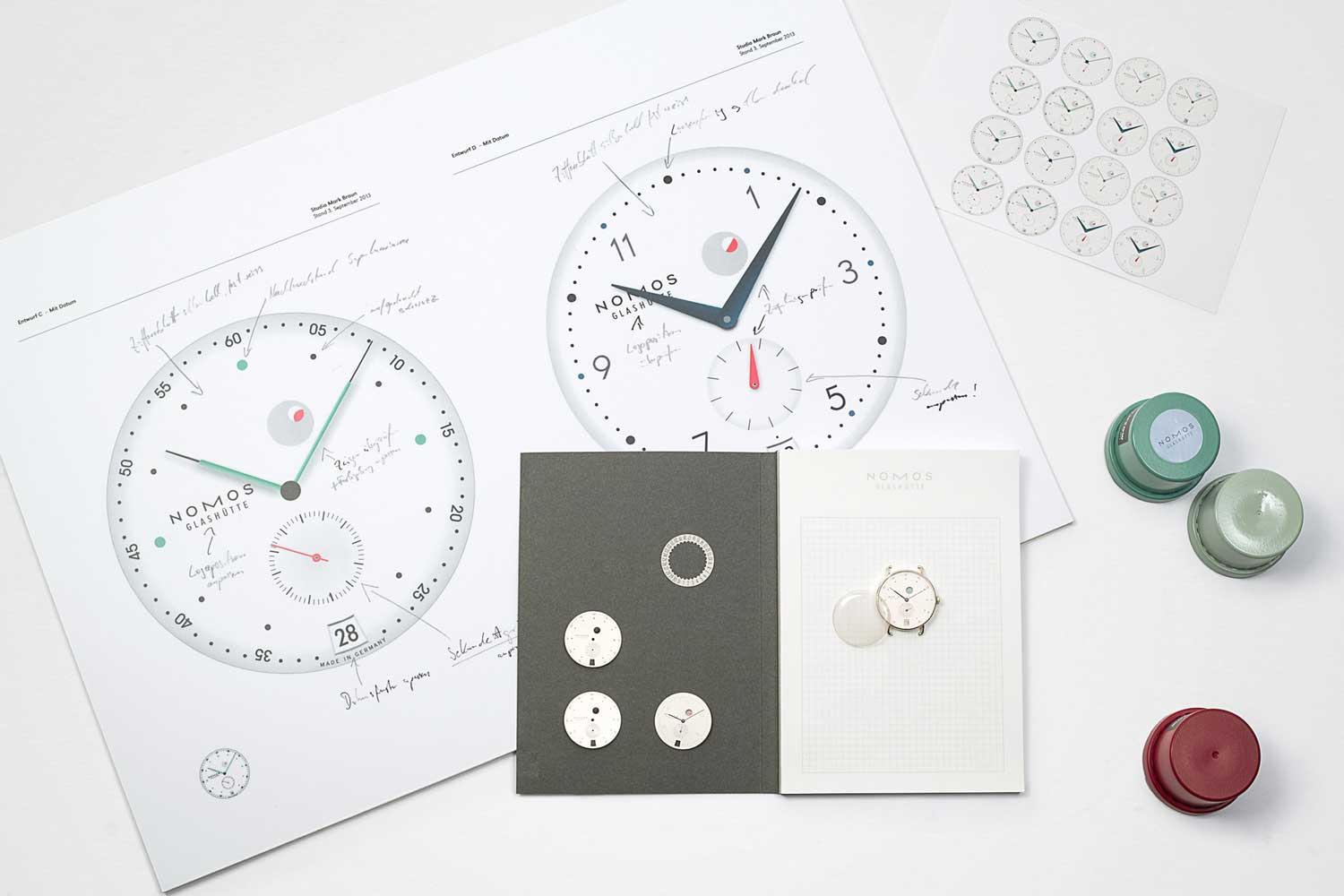 Design of the Nomos Metro