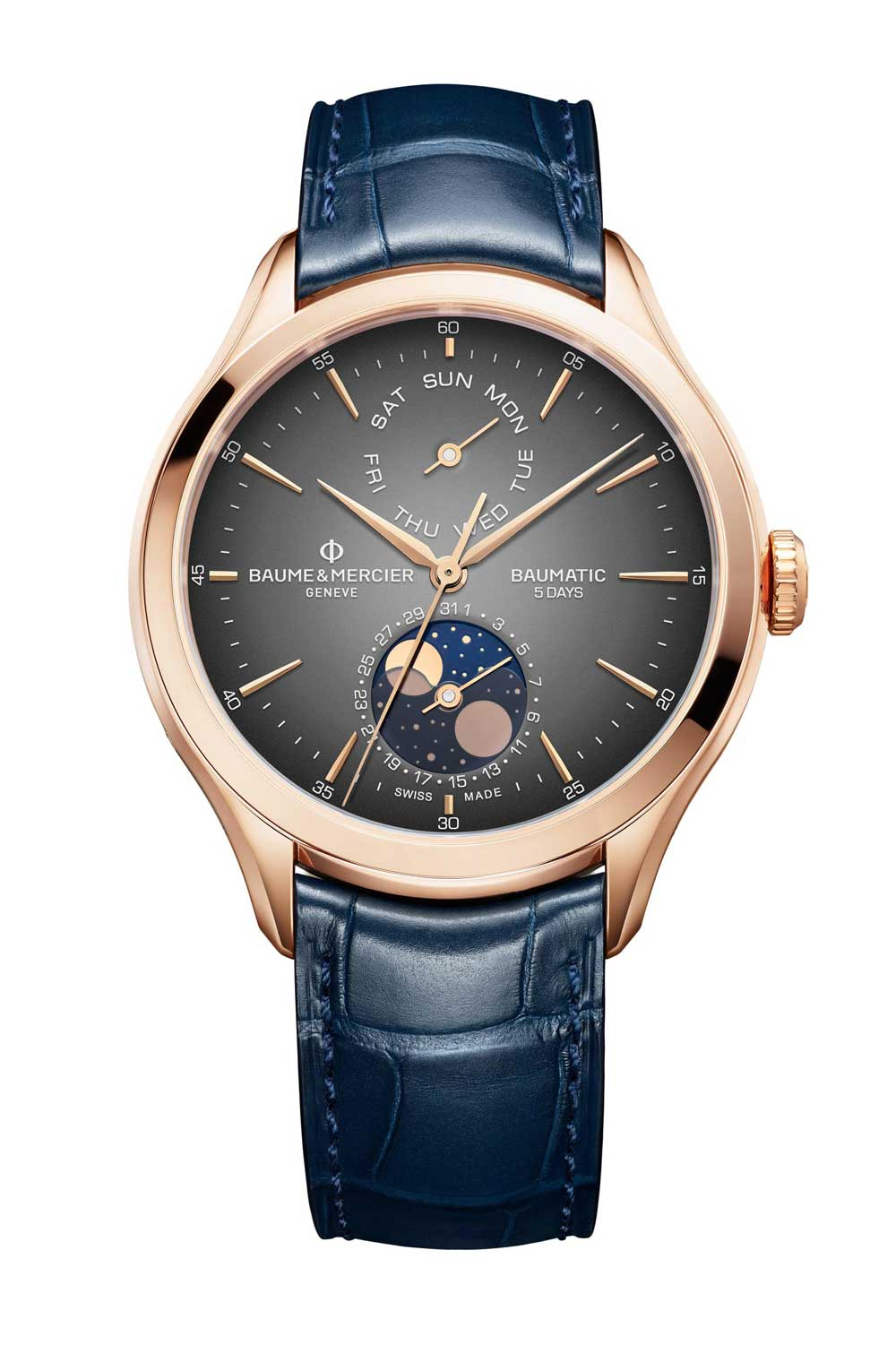 Baume & Mercier Clifton Day-date Moonphase