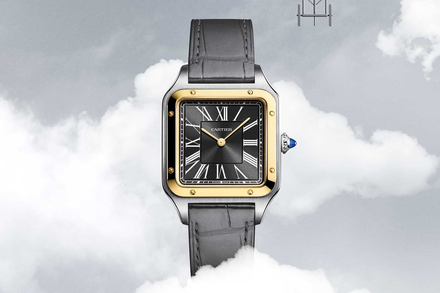 The winged aircraft is best known for winning several flight awards for Santos-Dumont, represented on the back of this special limited edition, with 500 pieces available globally.