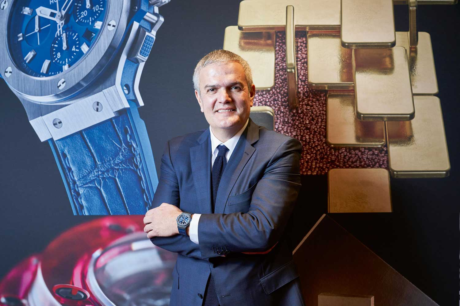 Ricardo Guadalupe, CEO of Hublot