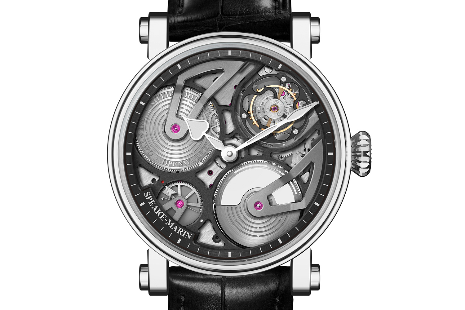 Speake-Marin One&Two Openworked Tourbillon