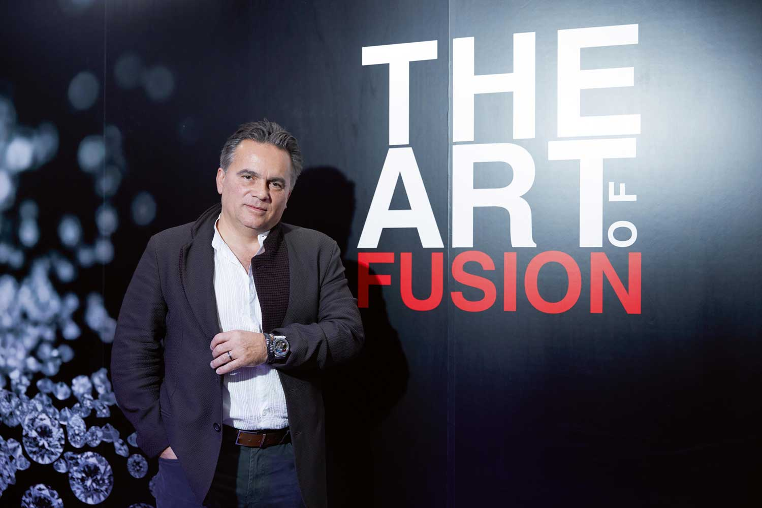 Mathias Buttet, the Director of Research and Development at Hublot