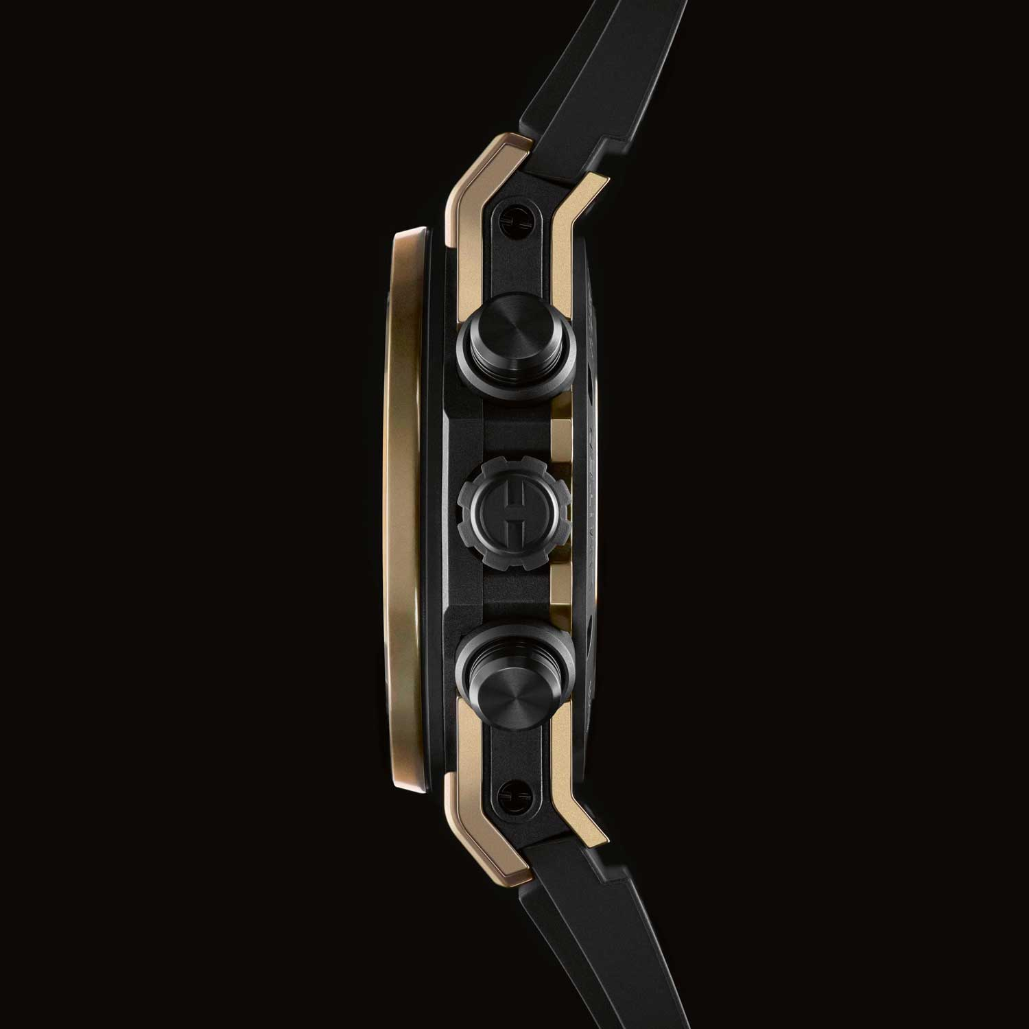 Hublot Big Bang Unico in Magic Gold, a special fused gold alloy made by injecting gold into porous ceramic.