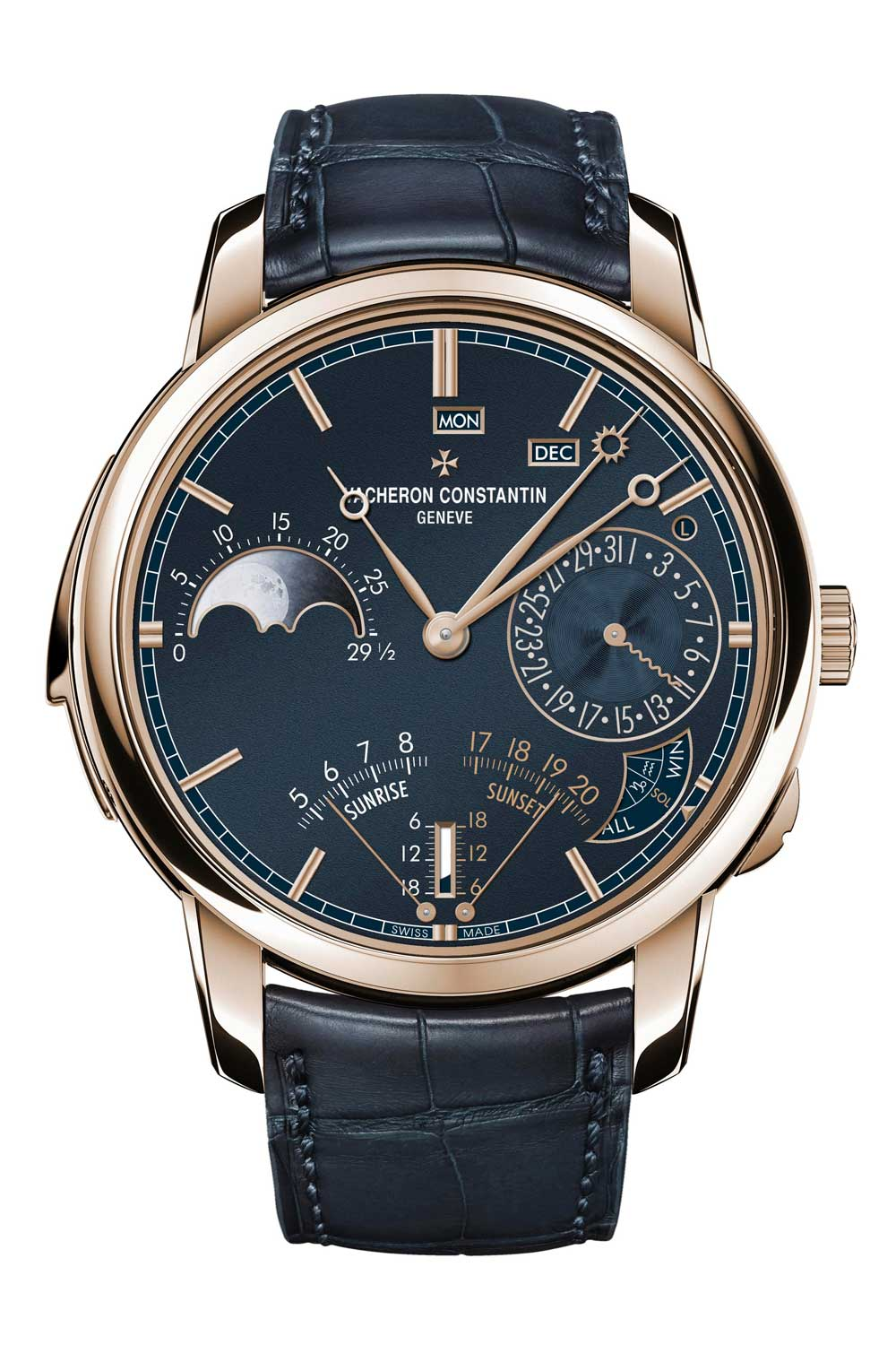 The display of the Les Cabinotiers Astronomical Striking Grand Complication is incredibly easy to read, despite its complexity