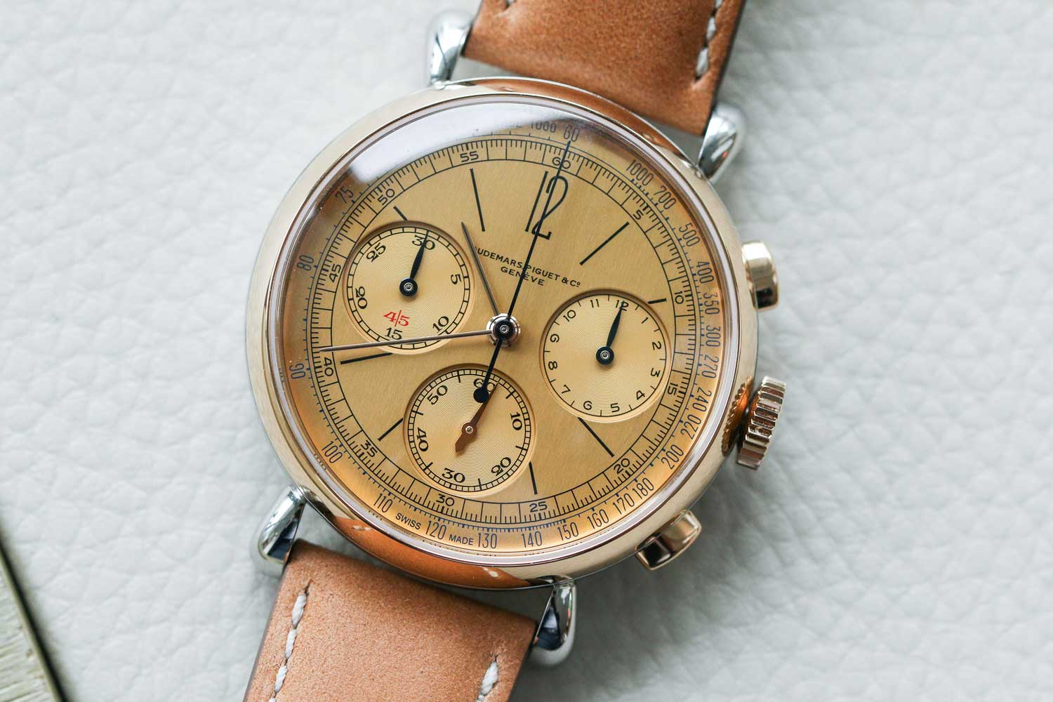 The [Re]master01 Selfwinding Flyback Chronograph (Image by Kevin Cureau)