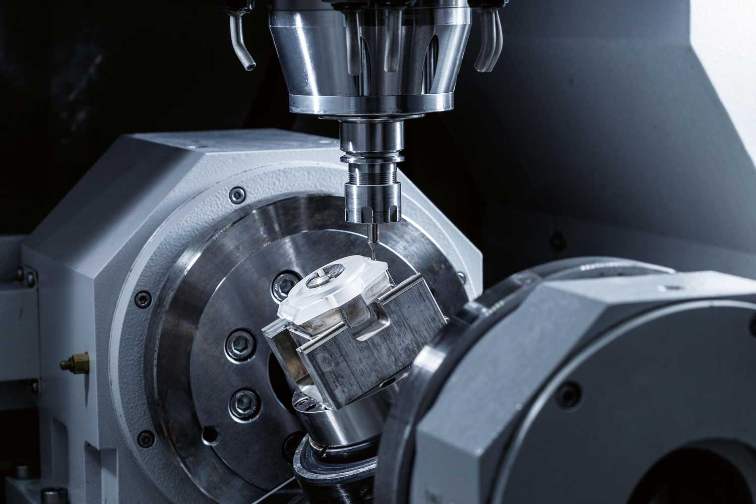 The machining of sapphire crystal cases is a time-consuming process