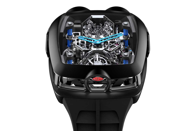 Jacob & Co x Bugatti Chiron Tourbillon