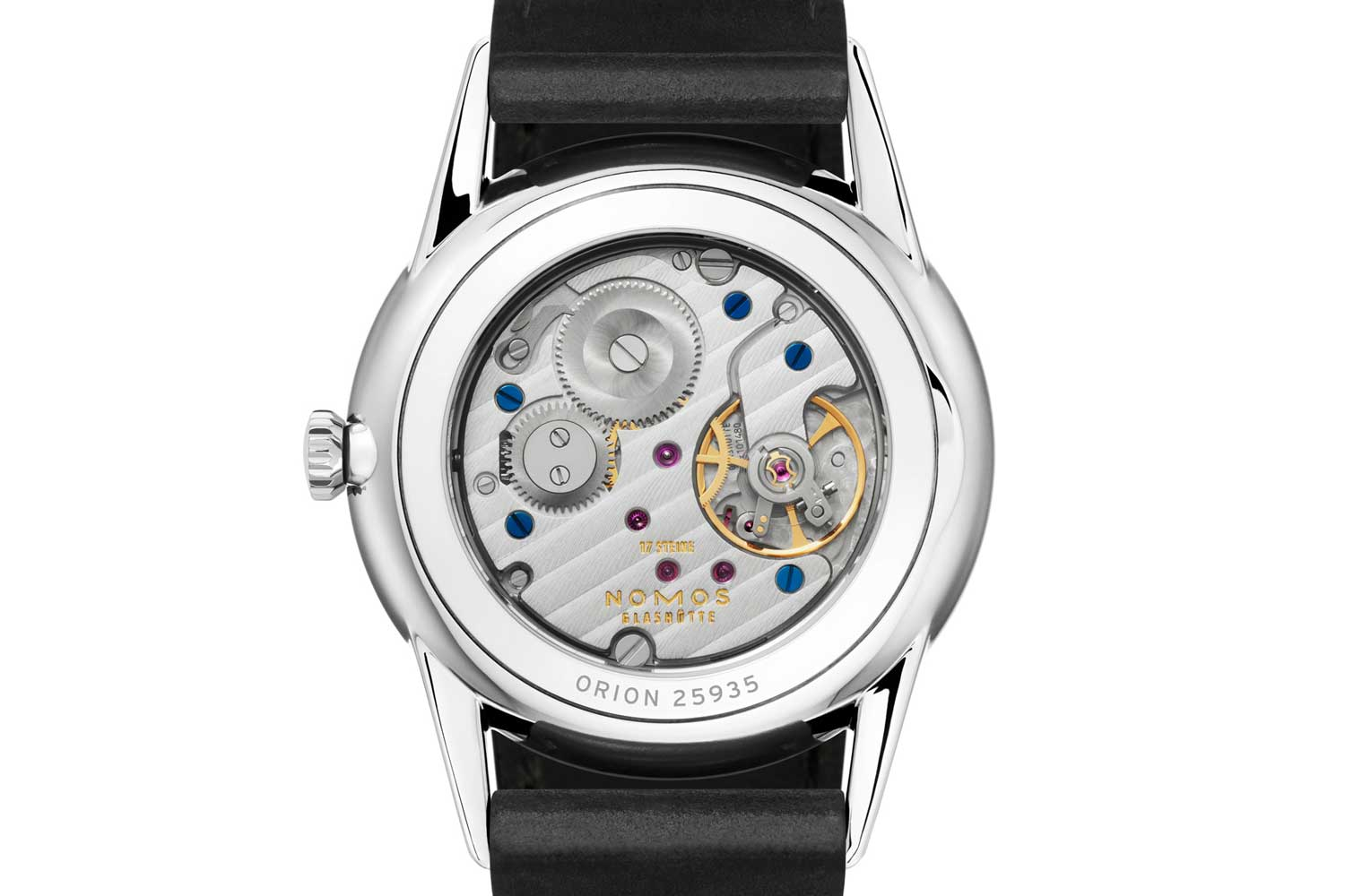 Orion with sapphire crystal caseback