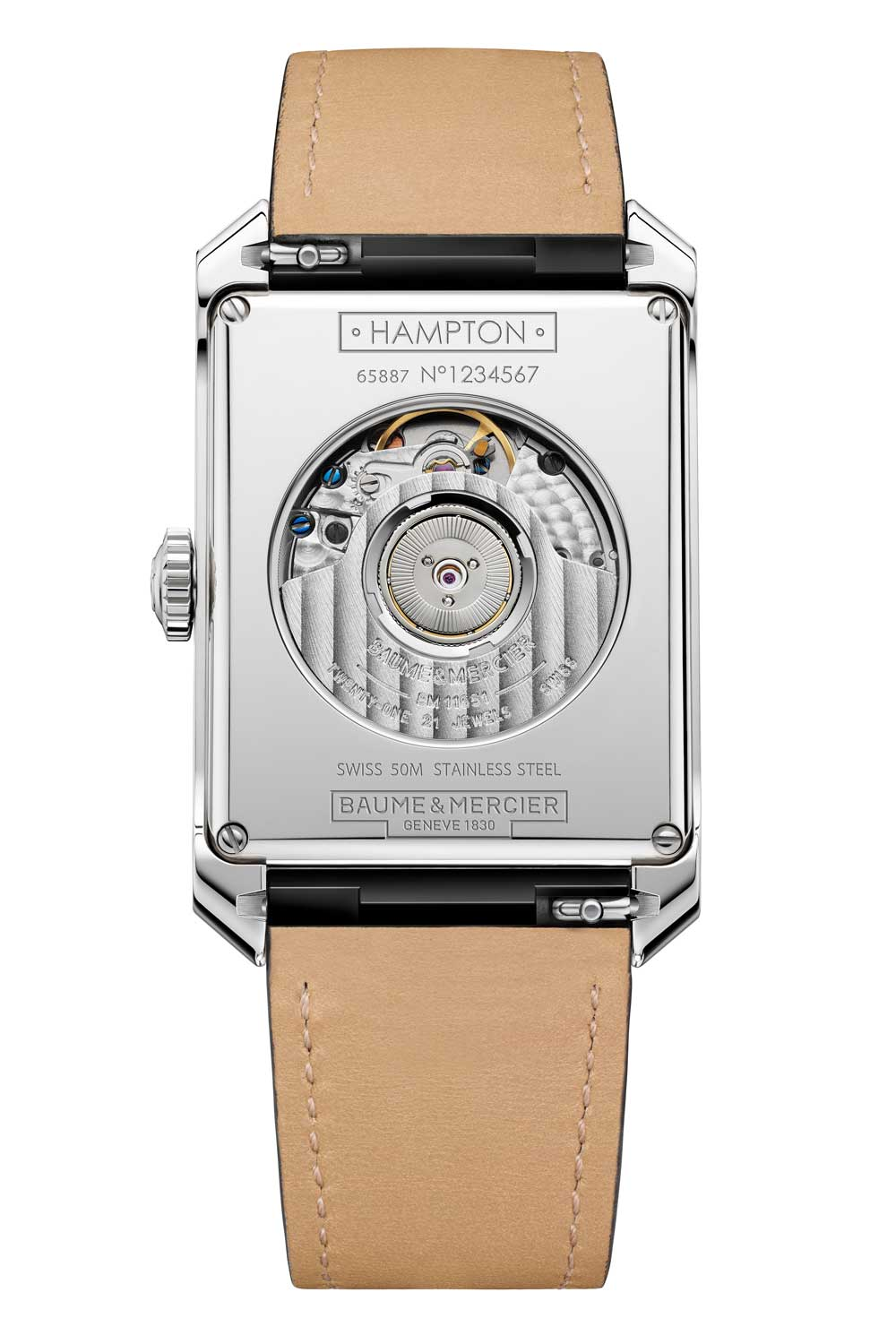 Hampton Large Dual Time Zone and Day/Night Indicator Automatic