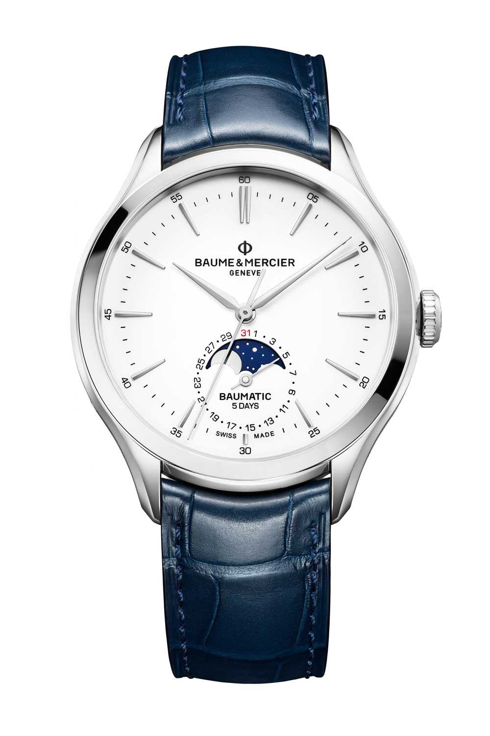 Clifton Baumatic Moon-Phase Date Automatic
