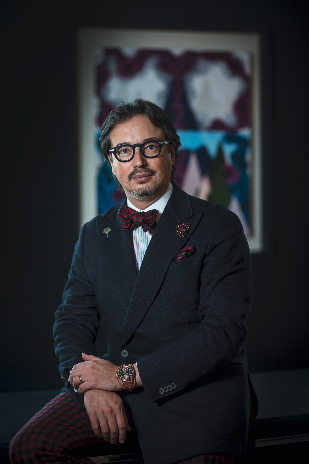 Davide Cerrato, managing director of Montblanc's watch division. - www.revolution.watch