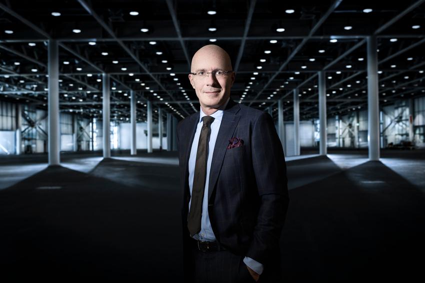 Michel Loris-Melikoff, Directeur Général de Baselworld. Bâle, Septembre 2019 © Fred Merz | Lundi13 - www.revolution.watch