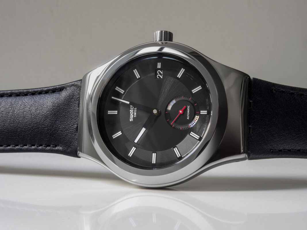The Swatch Sistem51 Petite Seconds. Image by Revolution. - www.revolution.watch